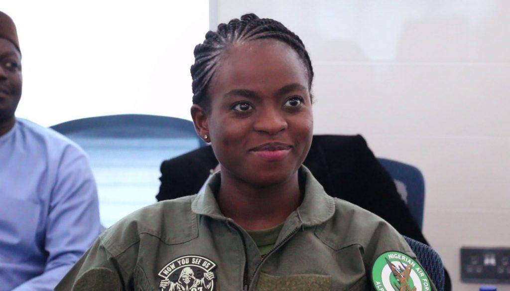 NAF Decorates Kafayat Sanni & Tolulope Arotile As Female Combatant Pilots 4