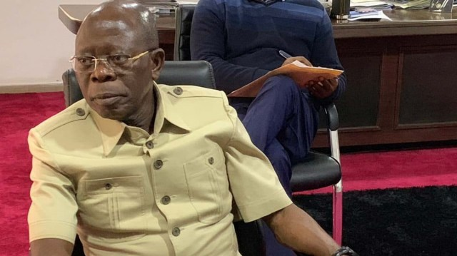 APC crisis deepens as aggrieved NEC members insist Oshiomhole must resign