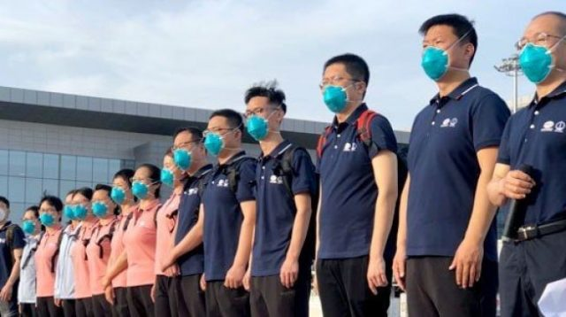 Chinese medical team is with us, says CCECC