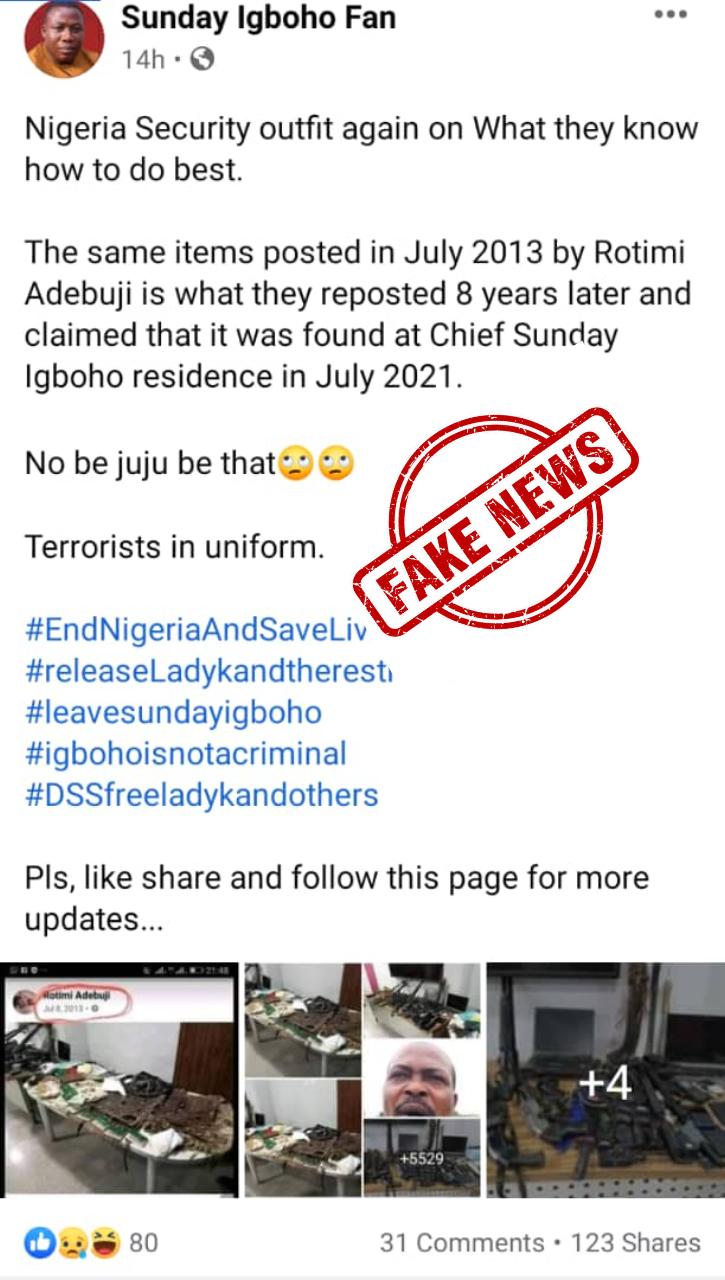 Sunday Igboho News today