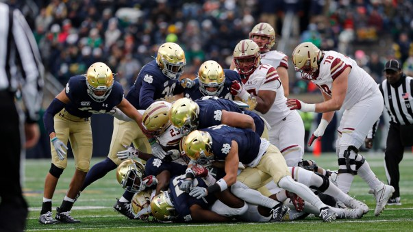 Instant Reaction | Notre Dame 40 Boston College 7 | Irish Sports Daily