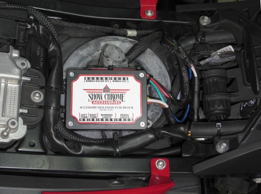 medium resolution of sierra bmw online fuzeblocks fz1 fuse panel with optional wiring kit bmw g650gs fuse box wiring