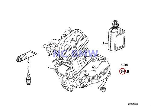 BMW Genuine Motorcycle Engine Repair Set Inspection F650GS