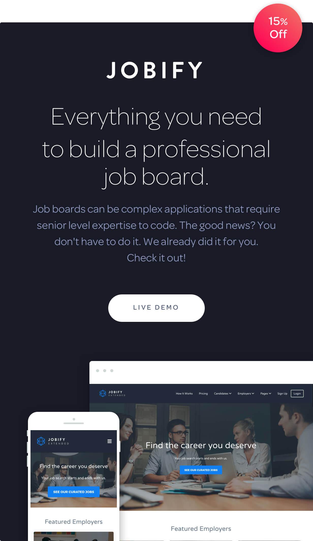 Jobify - Job Board WordPress Theme - 4