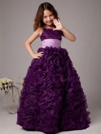 Flower Girl Dresses, Purple Flower Girl Dress,Girls ...