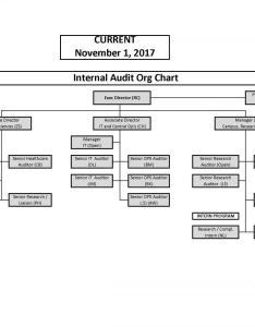 Organizational chart also internal audit rh fa uw