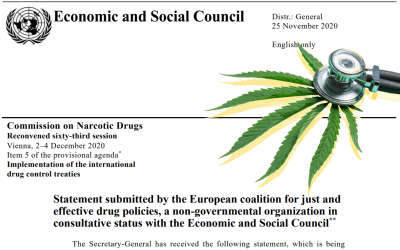 WHO cannabis vote: Support patient access to medicine, vote yes! [signed by 193 NGOs]
