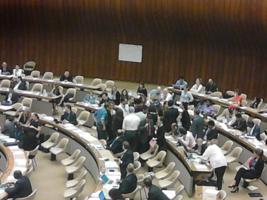 Informal meeting in plenary to try to resolve the drug resolution issue (2)