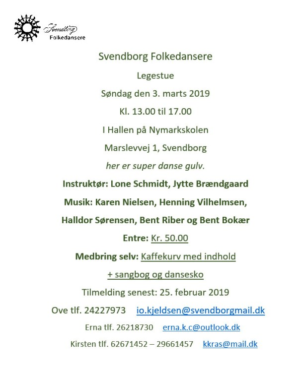 Legestue Svendborg Folkedansere