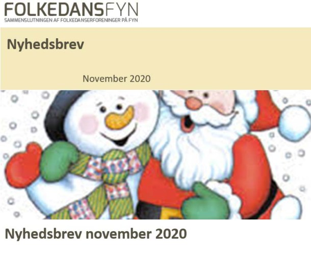 Nyhedsbrev Folkedans Fyn november 2020