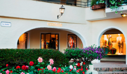Hermes Boutique in Porto Cervo, Italy Image Source: CPP Luxury