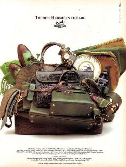 Hermès Ad: 1988