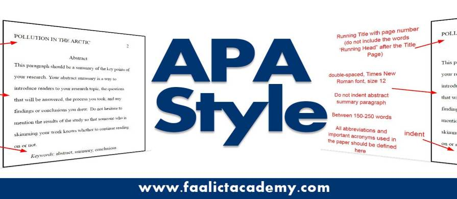 How To Properly Format And Style Your Research Paper Using The APA