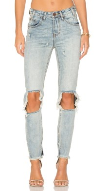 Freebird Whiskey High Waist Skinny Denim One Teaspoon