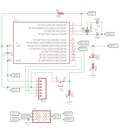 small resolution of the final design of the circuit was a combination of direct connections and labels