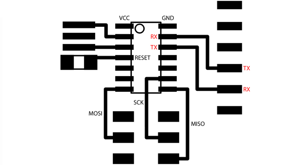 PCINT11: Pin Change Interrupt source 11. The PB3 pin can