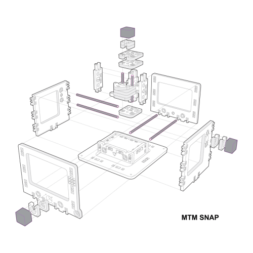 small resolution of rebuilt 3d model of mtm snap machine