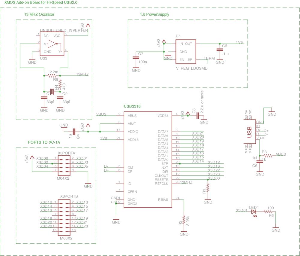 medium resolution of hi speed usb interfacing schematics