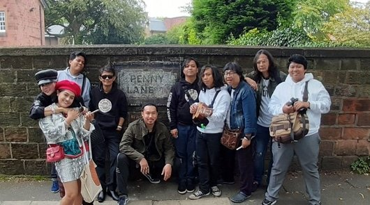 Beatles Tour of Liverpool - Penny Lane Sign