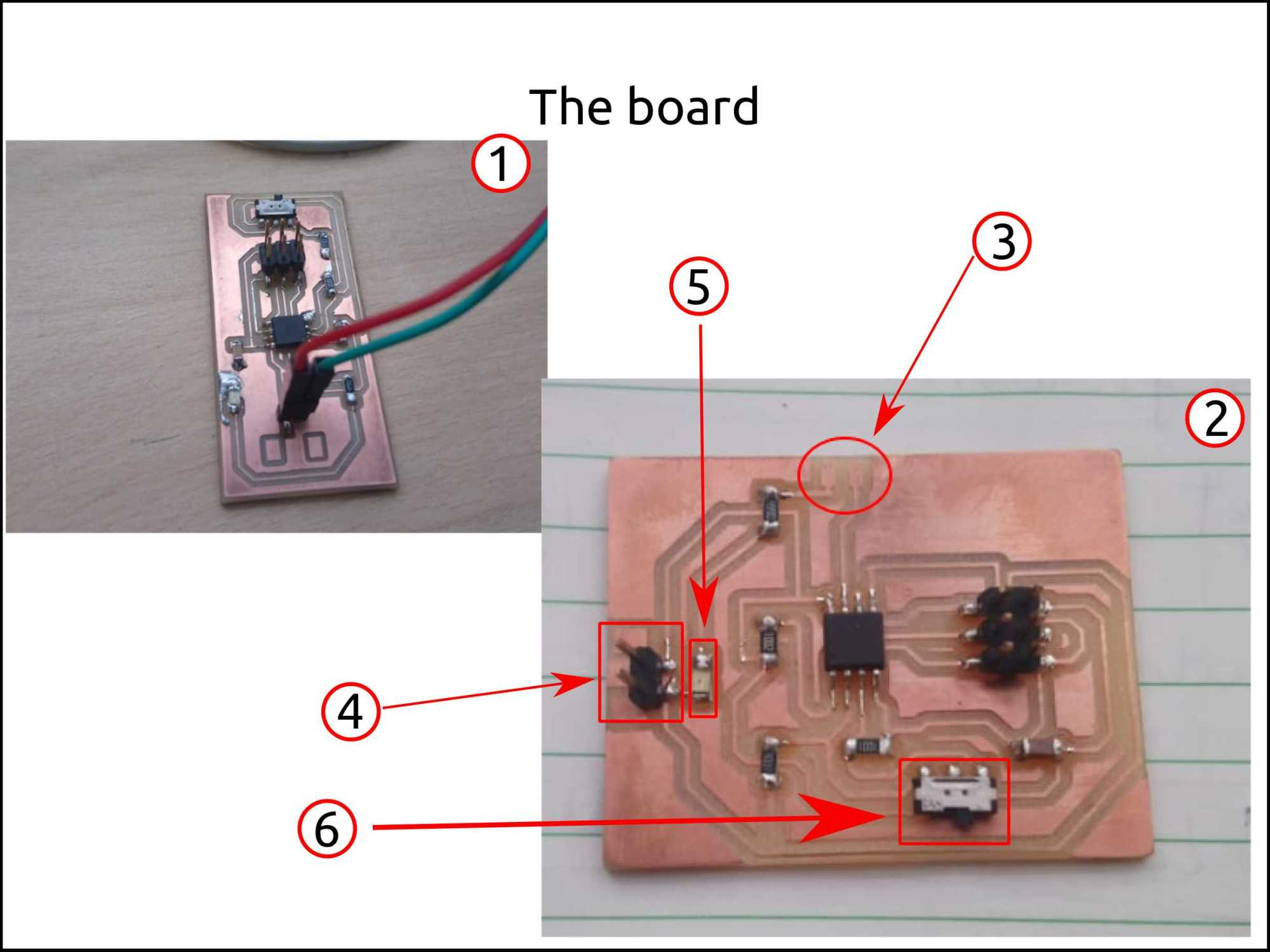 hight resolution of coding and burning the board