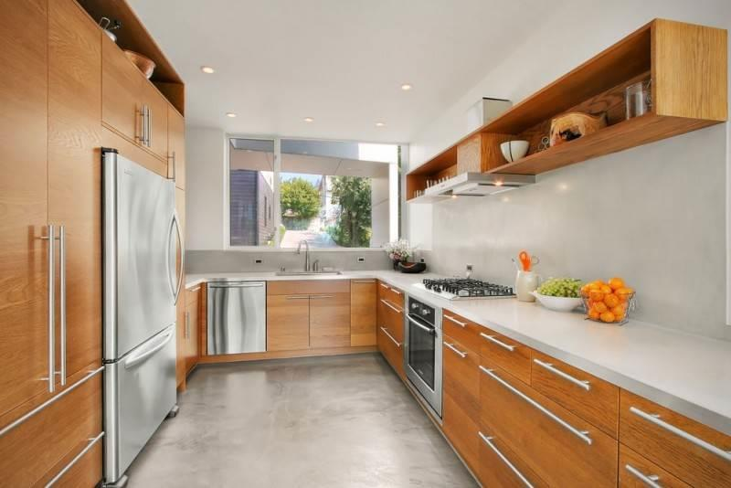 kitchen layout ideas how much to replace cabinets 舒适的u形厨房 布局的想法 fabalabs org