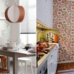 Kitchen Vinyl Round Island 现代厨房的可洗墙纸 选择的微妙之处 Fabalabs Org 厨房的乙烯基可清洗壁纸更好地选择在非织造基础上