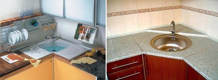 kitchen corner sinks do it yourself remodel 人体工学角落厨房的水槽 如何选择和安装 fabalabs org