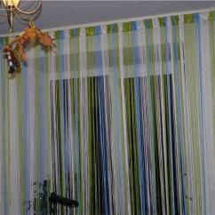 Kitchen Curtain Ideas Trailer Cabinets 厨房里有吸引力的长丝窗帘 照片和想法 Fabalabs Org