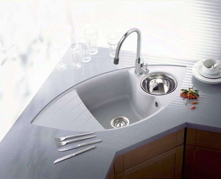 kitchen corner sinks european gadgets 人体工学角落厨房的水槽 如何选择和安装 fabalabs org