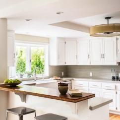 Kitchen Layout Ideas Countertops Types 舒适的u形厨房 布局的想法 Fabalabs Org