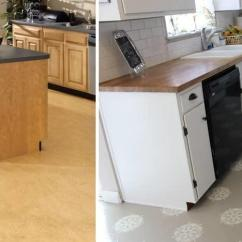 Kitchen Linoleum Outdoor Designs Plans 厨房里最好的地板是什么 预修概述 Fabalabs Org 油毡的使用寿命为8 10年 具有高耐磨性