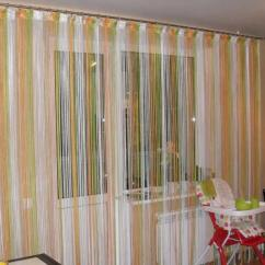 Kitchen Curtain Ideas How Much Is A Remodel 厨房里有吸引力的长丝窗帘 照片和想法 Fabalabs Org