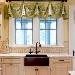 Kitchen Curtain Ideas Striped Rug 厨房窗户上的新窗帘 照片和选择想法 Fabalabs Org