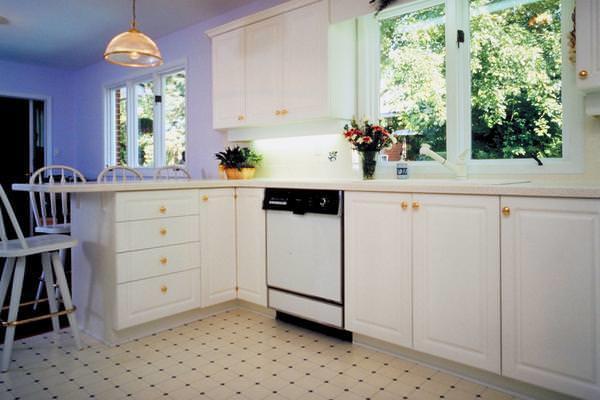kitchen linoleum stainless steel appliance package 选择厨房地板覆盖物 哪个地板更好 fabalabs org