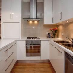 Kitchen Layout Ideas Floor Lino 舒适的u形厨房 布局的想法 Fabalabs Org