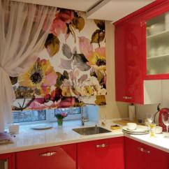 Kitchen Curtain Ideas Cabinets Orange County 舒适的小厨房窗帘 照片和有趣的想法 Fabalabs Org