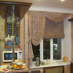 Kitchen Curtain Ideas Moen Faucets 厨房窗户上的新窗帘 照片和选择想法 Fabalabs Org