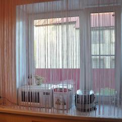Kitchen Curtain Ideas Small Appliance 厨房里有吸引力的长丝窗帘 照片和想法 Fabalabs Org