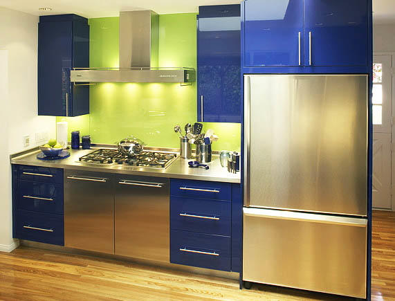 Cocina de color azul consideraremos las combinaciones bsicas y las caractersticas de diseo  fabalabsorg