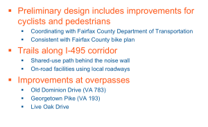 495 Express Lanes Extension Bike Plans 300x183 - I-495 EXPRESS LANES NORTHERN EXTENSION STUDY