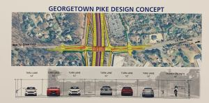 Georgetown Pike 300x148 - I-495 EXPRESS LANES NORTHERN EXTENSION STUDY