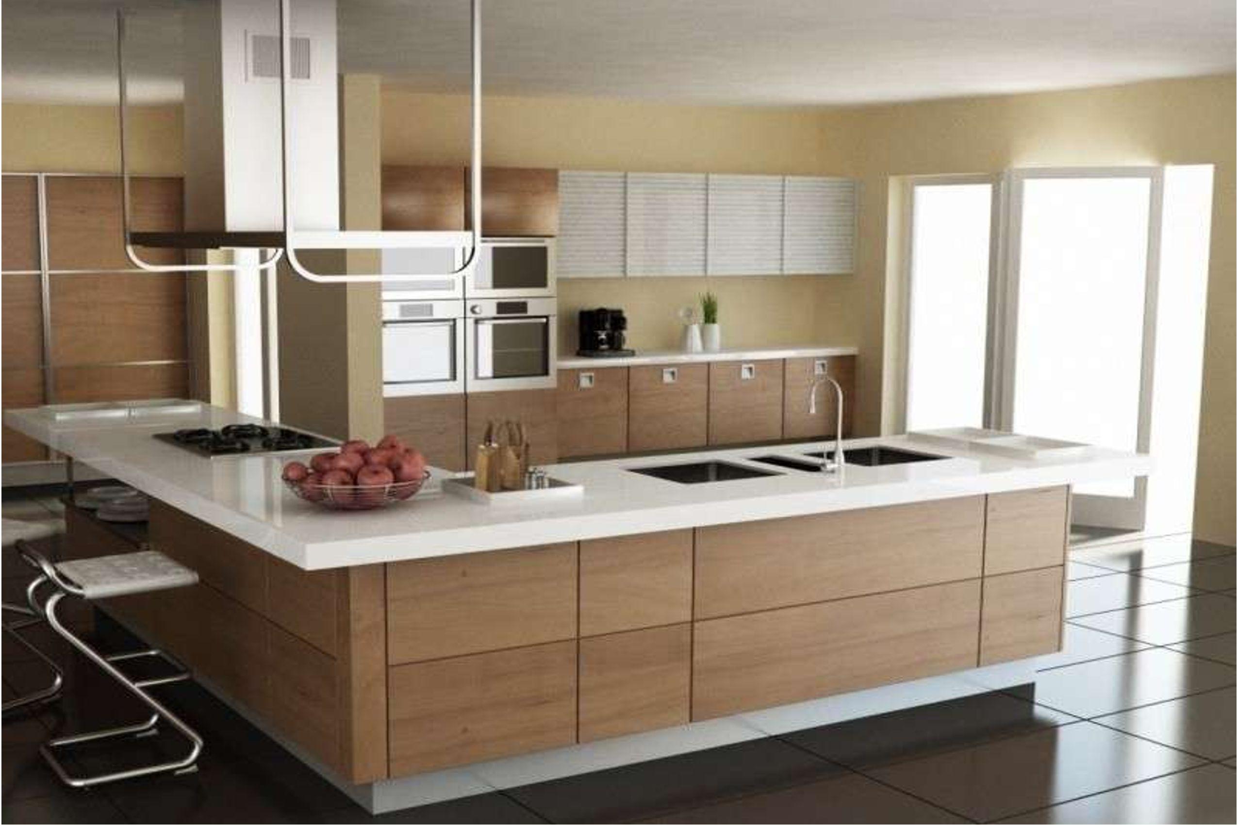 Cucina Bancone Snack.Cucina Moderna Con Snack Cucine Moderne Con Penisola Padova