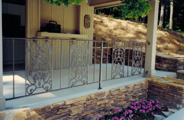 Exterior hand rail 4