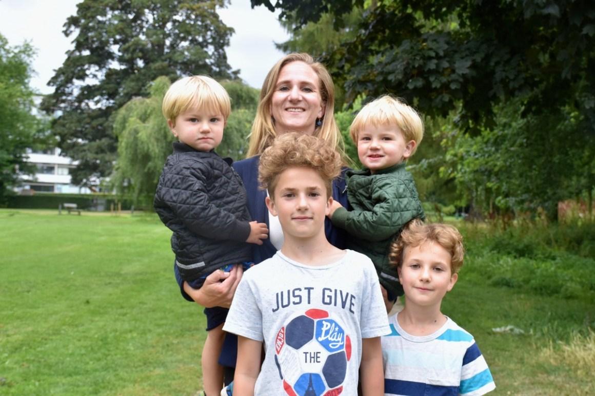 4 børn og selvstændig