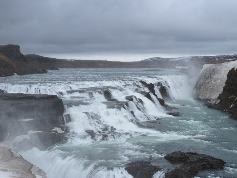Island for par - Gulfoss