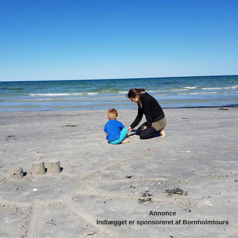 Balka strand er meget børnevenlig