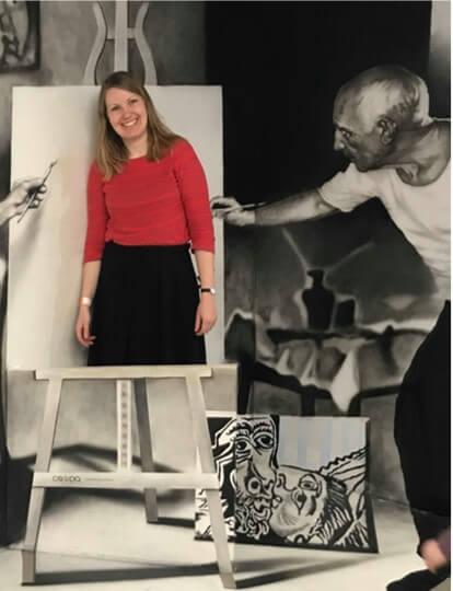 Kirsten Trøllund Boye fortæller om, hvordan hun startede Den Kreative Afdeling