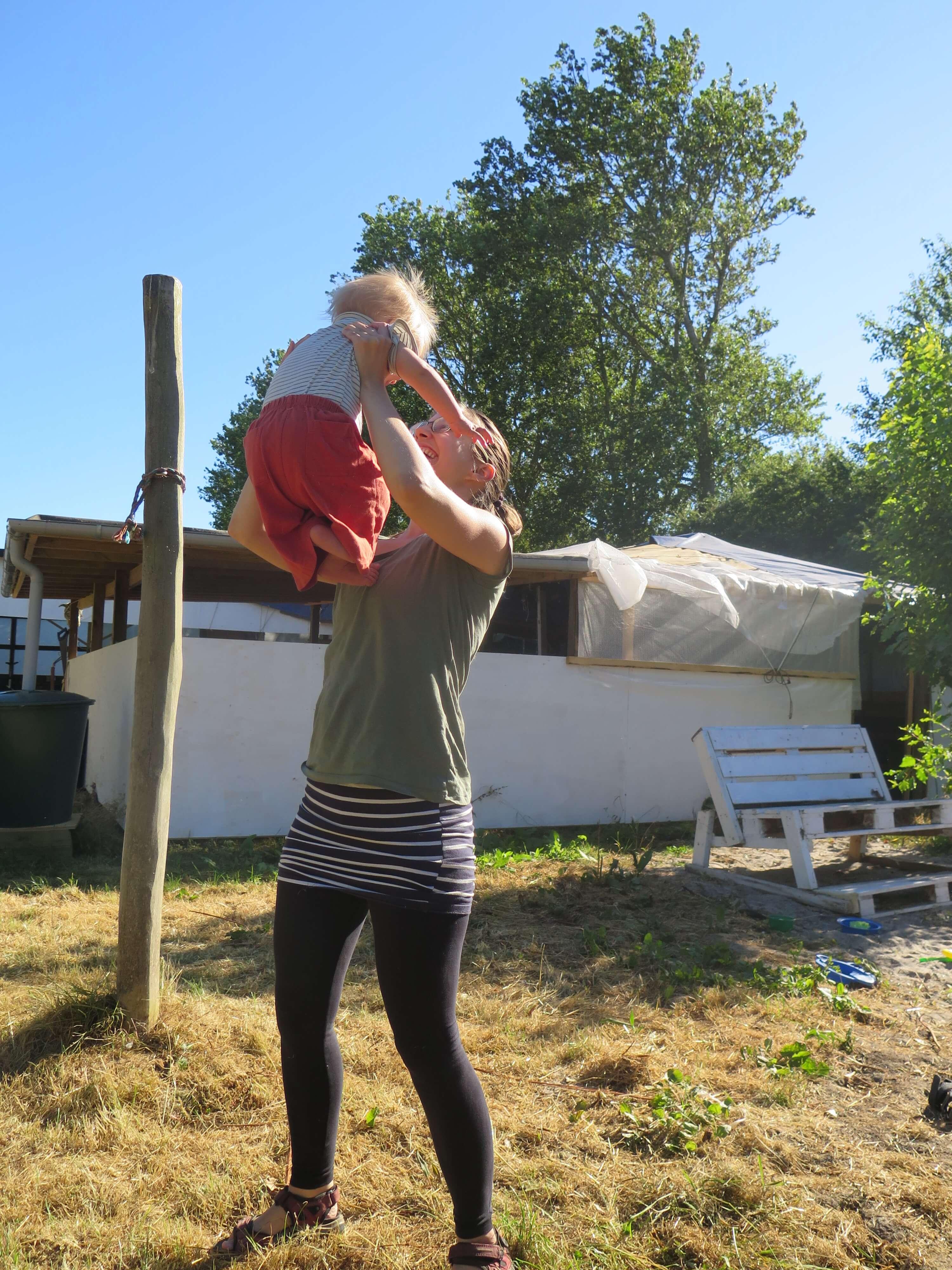 Ø-lejr med små børn