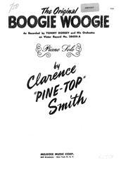Partitura digital de Boogie Woogie(Clarence Pinetop Smith