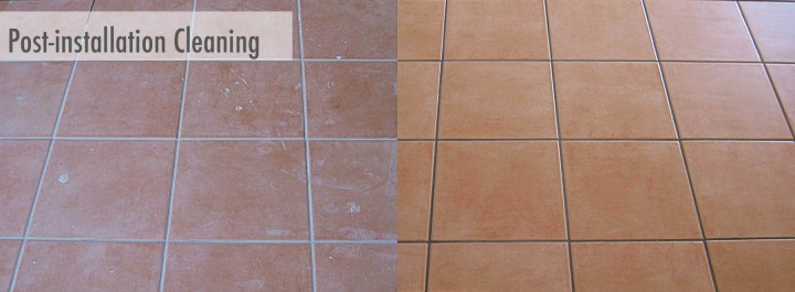 How to remove grout haze from porcelain tiles